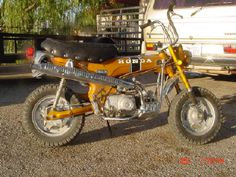 1970 honda trail 70 - growing up