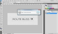 How to add a watermark in Photoshop