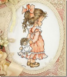 Pia - Sarah Kay Mary May, Vintage Drawing, Holly Hobbie, Beatrix Potter, Disney Pictures, Precious Moments, Handmade Christmas, Little Girls, Art Drawings