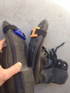 DIY 3D Printed Traction Spikes Convert Any Shoes into Winter-Friendly Footgear http://3dprint.com/42203/3d-printed-traction-spikes/