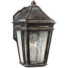 "Feiss Londontowne 11 1/4""H Chestnut Outdoor Wall Light"