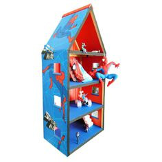 THE DOLL HOUSE FACTORY Spiderman Hideout Home (R1,375)