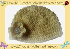 Free Crochet Patterns and Designs by LisaAuch: Free Crochet Pattern for Baby, Toddler and Child Hat & Booties (How to Crochet Baby Booties Pattern)