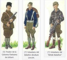 Guerra civil española: uniformes del bando Republicano