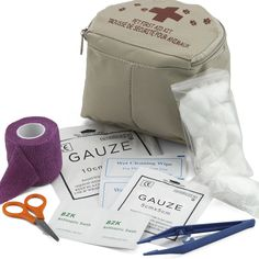 Whether you're hitting the trails or pounding the pavement with your dog this summer, make sure to take a first-aid kit with you to help care for hurt paws! Find this one at Tuesday Morning. #pet #travel #TuesdayMorning