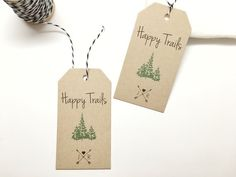 Woodland Wedding Favor Gift Tag Cards - Drinking Thank You Tags - Favor Tags - Set of 50 tags #230