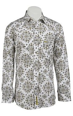 Larry Mahan Mens L/S Western Snap Shirt LM1240211 | Cavender's Boot City