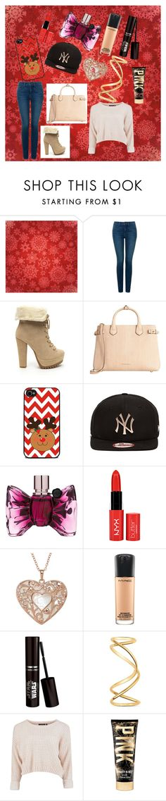 """""""Happy"""" by softic-384 ❤ liked on Polyvore featuring beauty, NYDJ, Burberry, New Era, Viktor & Rolf, MAC Cosmetics and Maison Margiela"""