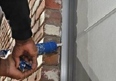 Inspect exterior caulking around windows and trim area is an important home maintenance tip. Inspect exterior caulking around your home will Home Improvement Projects, Home Projects, Outdoor Projects, Diy Home Repair, My Home Design, Home Upgrades, Home Repairs, Spring Home, Save Energy