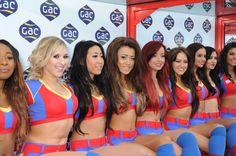 Palace Crystal Cheerleaders #cpfc