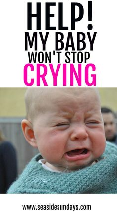 30 tips and tricks for coping with colic. If you have a fussy baby who won't stop crying, try these ideas to calm baby and get some peace!