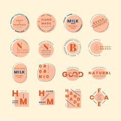 Web Design, Icon Design, Design Set, Layout Design, Graphic Design Posters, Typography Design, Typography Poster, Bakery Logo Design, Organic Logo