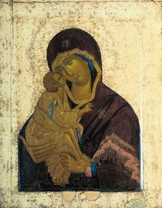 THEOPHANES the Greek, Virgin of the Don, 1392