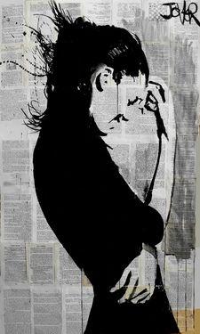 """Saatchi Online Artist Loui Jover; Drawing, """"breeze"""" #art"""