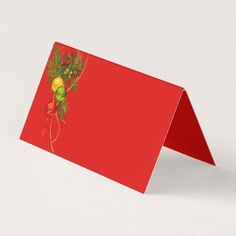 Christmas Party Name Place Card - Xmascards ChristmasEve Christmas Eve Christmas merry xmas family holy kids gifts holidays Santa cards