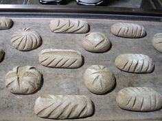 miche, some of which will be retarded overnight and baked Friday. Sourdough Recipes, Sourdough Bread, Bread Recipes, Bread Art, Pan Bread, The Fresh Loaf, Bread Shaping, Types Of Bread, Bread And Pastries