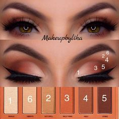Eye Makeup Tips – How To Apply Eyeliner – Healthy Life Style Urban Decay Makeup, Maquillage Urban Decay, Urban Decay Naked Heat, Heat Palette Urban Decay, Eye Makeup Tips, Makeup Trends, Makeup Inspo, Makeup Inspiration, Makeup Ideas