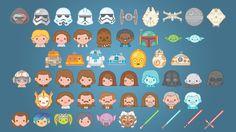 Star Wars lanza una plantilla de emojis para iOS - http://webadictos.com/2015/09/10/star-wars-lanza-una-plantilla-de-emojis-para-ios/?utm_source=PN&utm_medium=Pinterest&utm_campaign=PN%2Bposts