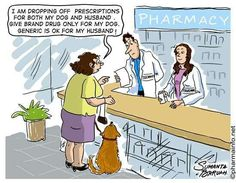 funny dog cartoons with captions Cartoon Dog, Cartoon Drawings, Dog Cartoons, Funny Dogs, Funny Animals, Animal Funnies, Pharmacy Humor, Drugs, Hilarious