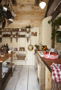 My Dream Home Has a Country Farmhouse Kitchen Rustic Farmhouse Decor Farm Kitchen Ideas, Kitchen Decor, Kitchen Furniture, Decorating Kitchen, Kitchen Trends, Country Furniture, Kitchen Paint, Wood Furniture, Kitchen Dining