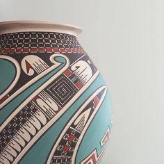 Mata Ortiz pottery at Modern West Fine Art.