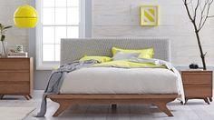 Home :: Bedroom :: Bedroom Furniture :: Bedside Tables :: Calibra 2 Drawer Bedside Table