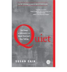 The book that started the Quiet Revolution At least one-third of the people we know are introverts. They are the ones who prefer listening to speaking
