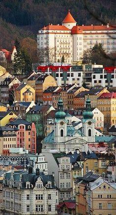 Karlovy Vary (West Bohemia), Czechia #spa #city #Czechia