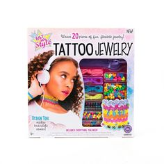 Just My Style Tattoo Jewelry Making Kit: Beads, Lanyards, Bracelet Maker, More #JustMyStyle