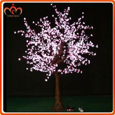 Source LED Color changing Outdoor pre lit christmas tree cherry blossom artificial on m.alibaba.com