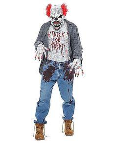 Scary Clown Costume Kit - FOREVER HALLOWEEN
