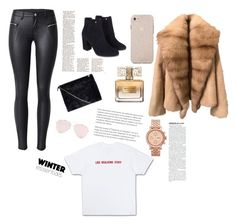 """""""#1"""" by mynameisn on Polyvore featuring Monsoon, Boohoo, Givenchy and FOSSIL"""