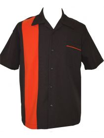 Classic Bowler 2.0 Bowling Shirt Red /& Black retro vintage lebowski kingpin