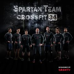 Photographs and poster designs of sport team for Reebok Spartan Racing Roma.