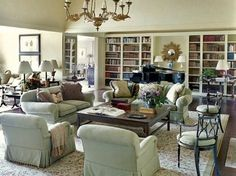 timeless and traditional decorating | Classic Chic Home: Timeless and Traditional Living Rooms