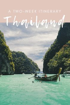 Planning a two week itinerary for Thailand, and sharing all of our favorite places to visit, including a few hidden gems. This Thailand travel itinerary is meant for those who want to see the most of the country in 2 weeks. Thailand Travel Guide, Asia Travel, Trip To Thailand, Thailand Itinerary 2 Weeks, Backpacking Thailand, 2 Weeks In Thailand, Bangkok Itinerary, Thailand Honeymoon, Chiang Mai Thailand