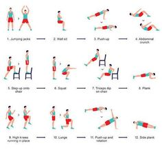Looking to get back in shape? Take the initiative now!  Try these exercises at home for a fitter future!