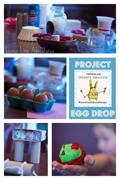 Project Egg Drop: Child Led, Child Driven Creativity activity to foster STEM skills. #creativekidschallenge