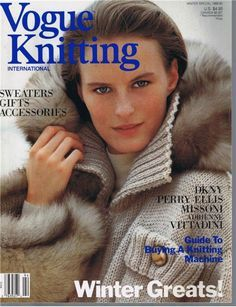 Vogue Knitting Fall 2002 Anniversary Issue Sweaters Coats 44 Patterns for sale online Vogue Knitting, Knitting Books, Vintage Knitting, Vintage Patterns, Crochet Pattern, Knitting Patterns, Knit Crochet, Knitting Magazine, Crochet Magazine
