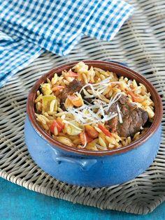 Γιουβέτσι με μοσχαράκι και λαχανικά - www.olivemagazine.gr