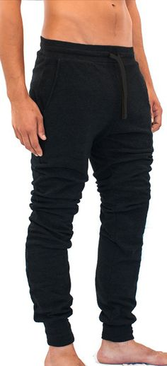 Yoga Americana Mens French Terry Pants with Pockets Yoga Tools, Yoga For Men, French Terry, Mma, Yoga Pants, Shirt Style, Black Jeans, Trousers, Sweatpants