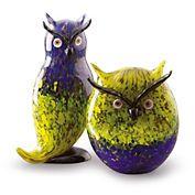 For Mrs Holt - Murano owls