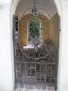 Charleston, SC...love the ironwork and gates in this city