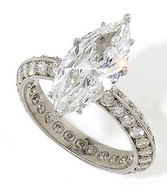 ♥ #Sparkling #Sunday with #Capri #Jewelers #Arizona ~ www.caprijewelersaz.com ♥ Stop by for our #Specials or shop online ♥ Marquise Diamond Ring