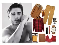 """:)"" by biljanakljajic ❤ liked on Polyvore featuring River Island, Timberland, Ted Baker, Sandqvist, Dolce&Gabbana, Baxter of California, Edwin Jagger, Magnanni, men's fashion and menswear"