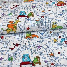 Childrens Fabric - Dreamland by Timeless Treasures £3.25