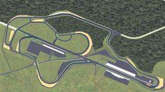 Pascani Motorpark, 4.49km/2.79mi (Grade 3) + onboard lap : RaceTrackDesigns Race Tracks, Design Guidelines, Grade 3, Parks, Racing, Race Cars, Circuit, Running, Auto Racing