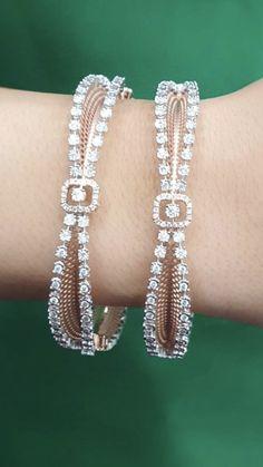 Diamond Bracelets, Gold Bangles, Bangle Bracelets, Diamond Jewelry, Gents Bracelet, Gold Jewelry Simple, Bracelet Designs, Jewelery, Jewelry Design