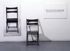 Kosuth, Joseph: One and Three Chairs (Una y tres sillas)