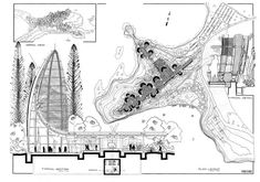 renzo piano tjibaou centre drawing - Google Search
